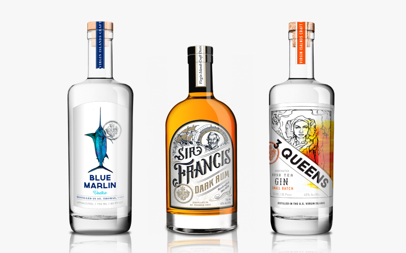 Virgin Islands Craft Distillers | 5IVE | Packaging | Minneapolis, MN